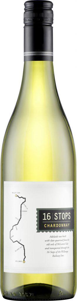 16 Stops - McLaren Vale Chardonnay 2018 75cl Bottle
