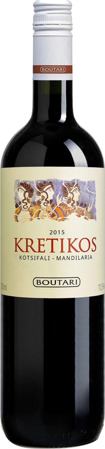 Boutari - Kretikos Red Dry 2015 75cl Bottle