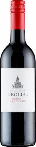 Les Vignes de L'eglise - Merlot Grenache IGP Pays d'Oc 2018 75cl Bottle