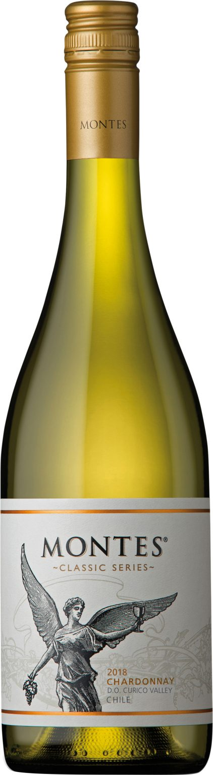 Montes - Classic Series Curico Valley Chardonnay 2018 75cl Bottle
