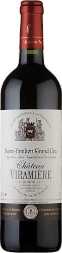 Chateau Viramiere - St-Emilion Grand Cru 2014 75cl Bottle