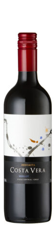 Indomita - Costa Vera Merlot 2018 12x 75cl Bottles