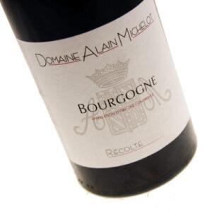 Alain Michelot - Bourgogne Pinot Noir 2017 75cl Bottle