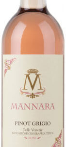 Mannara - Pinot Grigio Rose 2018 75cl Bottle