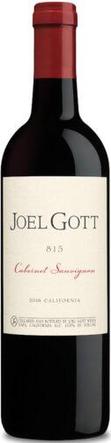 Joel Gott - 815 Cabernet Sauvignon 2017 75cl Bottle